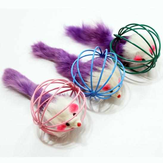 펫모닝 와이어볼 쥐 1개 색상랜덤 사진
