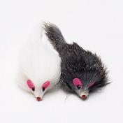 펫모닝 토끼털 마우스 소형 2개입
