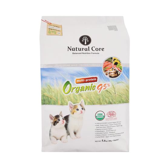 네츄럴코어 유기농 95% 멀티프로틴 5.6kg 사진