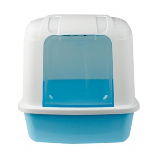 산시아 졸리 후드형 화장실 블루 사진