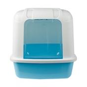 산시아 졸리 후드형 화장실 블루