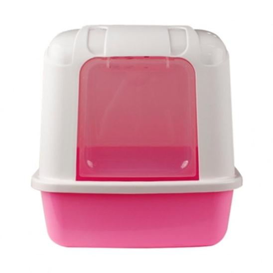 산시아 졸리 후드형 화장실 핑크 사진