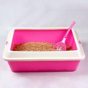산시아 토비 평판형 화장실 핑크