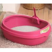 푸르미 평판 화장실 핑크 대형
