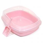 에이스펫 코지 평판 화장실 핑크