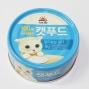 사조 로하이 캣푸드 참치&닭가슴살 캔 90g