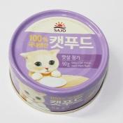 사조 로하이 캣푸드 참치&맛살 캔 90g
