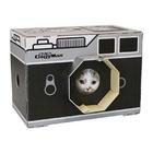 캐티맨 고양이 스크래쳐 하우스 카메라 사진