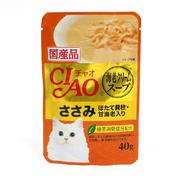 챠오 수프 닭가슴살&가리비관자&새우 파우치 40g