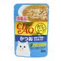 챠오 수프 가다랑어&가리비관자&닭가슴살 파우치 40g