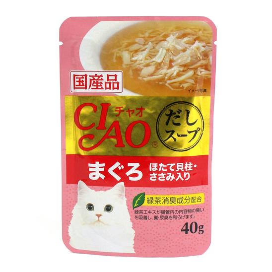 챠오 수프 참치&가리비관자&닭가슴살 파우치 40g 사진