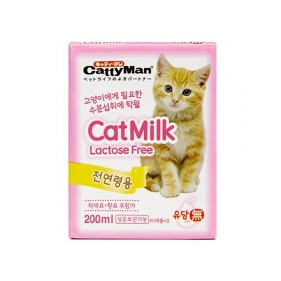 캐티맨 캣밀크 200ml - 유통기한 2019.02.18 묶음(1개) 사진