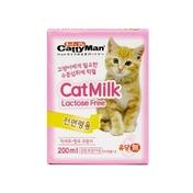 캐티맨 캣밀크 200ml - 유통기한 2019.02.18