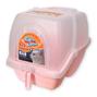 캣츠크린 후드 화장실 핑크