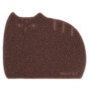 아이캣 뚱냥이 모래매트 브라운