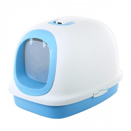 마칼 자이언트캣 후드 화장실 블루 사진