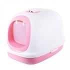 마칼 자이언트캣 후드 화장실 핑크 사진