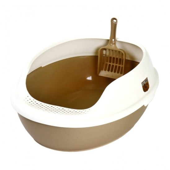 마칼 거름망 화장실 브라운 사진
