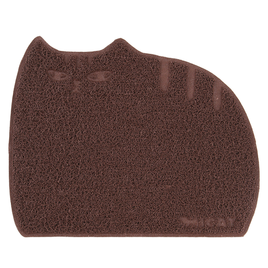 아이캣 뚱냥이 모래매트 브라운 점보 사진