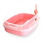 마칼 자이언트캣 평판화장실 핑크 사진