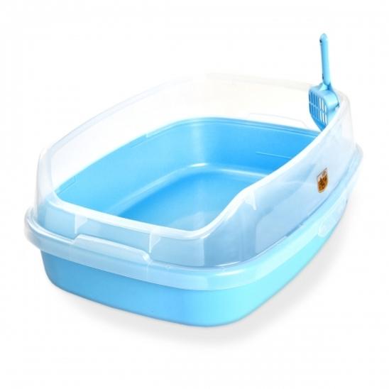 마칼 자이언트캣 평판화장실 블루 사진
