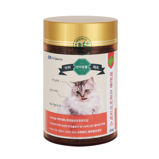 청인 프로바이오틱스 고양이 유산균 200g 사진