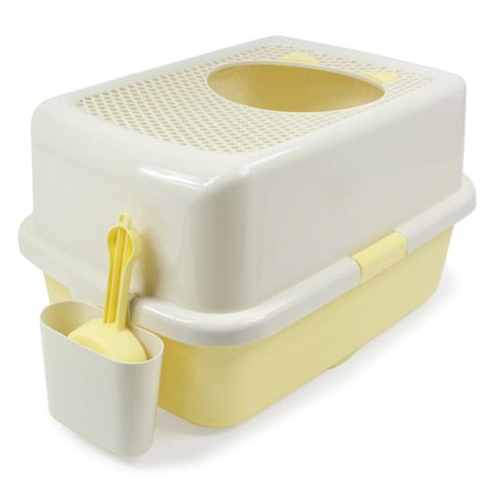 허니비 탑엔트리 화장실 옐로우 사진