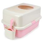 허니비 탑엔트리 화장실 핑크 사진