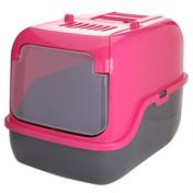 푸르미 3단접이 후드화장실 핑크