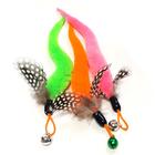 힐링타임 니나노 천연깃털 꼬리 낚싯대 리필 색상랜덤 사진