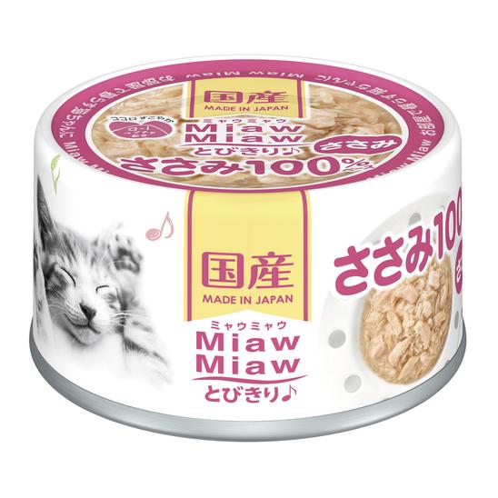 먀우먀우 토비키리 닭가슴살 캔 60g 사진