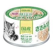 먀우먀우 토비키리 닭가슴살&치어 캔 60g