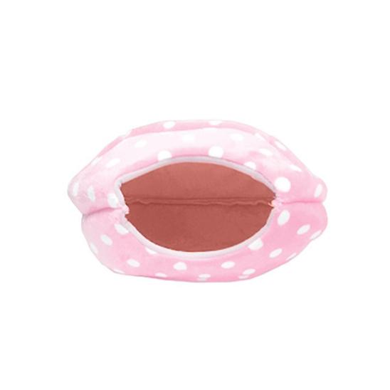 힐링타임 땡땡이 햄버거 하우스 핑크 소형 사진