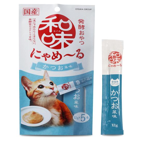 나고미 냐매루 스틱 가다랑어 맛 12g 5개입 사진