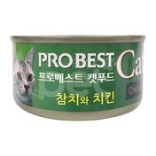 프로베스트 캣 참치&치킨 캔 80g