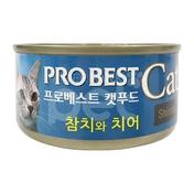 프로베스트 캣 참치&치어 캔 80g