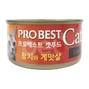 프로베스트 캣 참치&게맛살 캔 80g