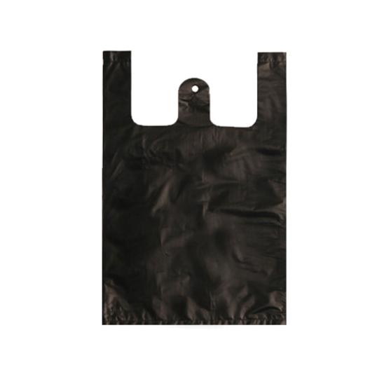 배변 봉투 중 블랙 100매 사진