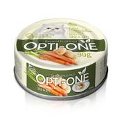사조 옵티원 흰살참치 당근&감자 캔 90g