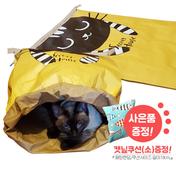 힐링타임 시크릿 페이퍼하우스 + 캣닢 쿠션 소