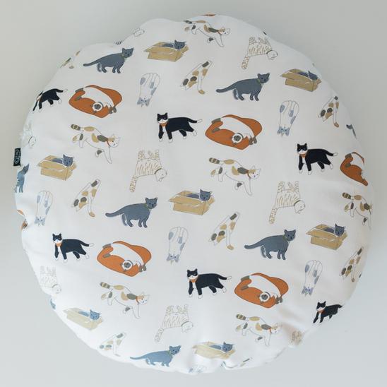 고양이도넛 방석 플레이위드미 L 사진