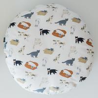 고양이도넛 방석 플레이위드미 L