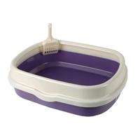 산시아 블루파우 가든 평판 화장실 퍼플