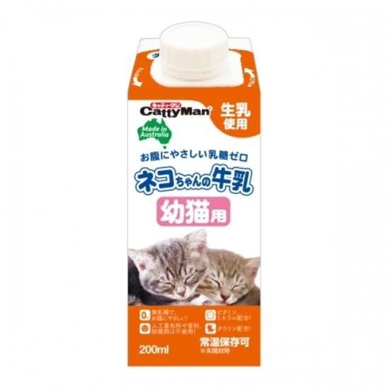 캐티맨 호주산 고양이 우유 키튼 200ml - 유통기한 2019.12.31 사진
