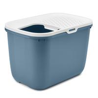 사빅 홉인 고양이 화장실 블루