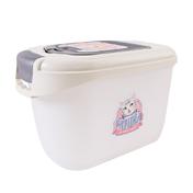 키플 캣아이디어 럭셔리 사료통 3kg 크림 + 웰니스 시그니쳐 캔