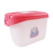 키플 캣아이디어 럭셔리 사료통 3kg 핑크 + 웰니스 시그니쳐 캔