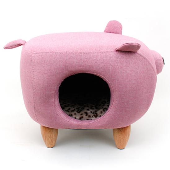 펫모닝 핑크돼지 하우스 PMC-117139 사진
