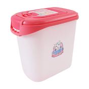 키플 캣아이디어 럭셔리 사료통 5kg 핑크 + 웰니스 시그니쳐 캔