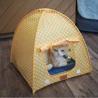 네꼬모리 텐트 레몬톡톡
